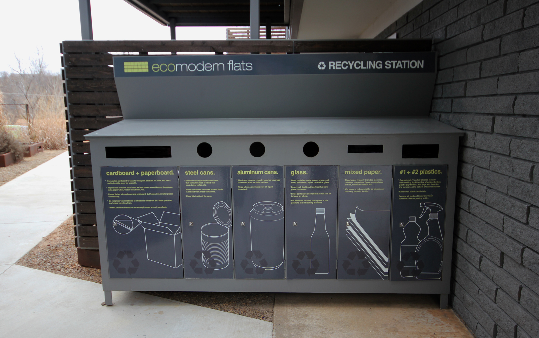 Fayetteville's first large-scale apartment recycling program